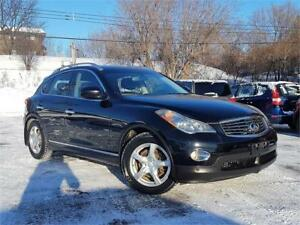 2009 INFINITI EX35 LIMITED/4x4/GPS/CAMERA/CUIR/MAGS/AC/CRUISE