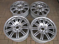 "Genuine BMW M3 E46 19"" Alloy wheels"