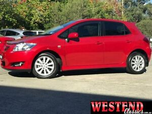 2007 Toyota Corolla ZRE152R Levin SX Red 6 Speed Manual Hatchback Lisarow Gosford Area Preview