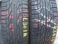 195 55 15 Pirelli, P6000 Powergy, 85H, x2 A Pair, 7.5mm (450-458 Barking Road,E13 8HJ) Part Worn