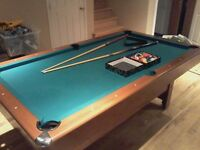 Table de billard pool