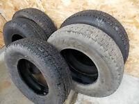 SET OF 5 Hankook 235/75/R17 tires