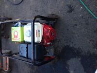 Honda Petrol Generator 240/110 volt