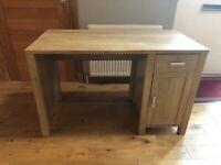 Light Oak Veneer Desk