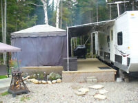 roulotte 32 pi interieur camping atlantides