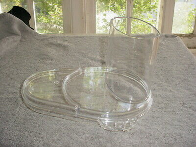 Waring Cuisinart Commercial Food Processor Continuous Feed Chute Cover Fp258