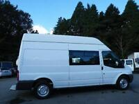 2010 Welfare Ford Transit Van with toilet