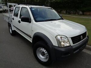 2004 Holden Rodeo RA LX White 4 Speed Automatic Chermside Brisbane North East Preview