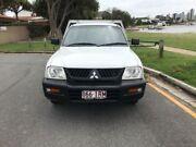2005 Mitsubishi Triton MK GL White Manual Cab Chassis Main Beach Gold Coast City Preview