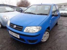 2004(54reg) Fiat Punto 1.2 38,000 Miles MOT'd Full Year £895