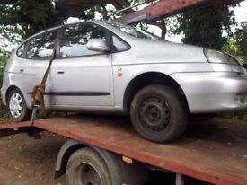 Chevrolet TACUMA 1.6 2005 rear light breaking for parts