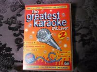 Karaoke DVD with 10 all time favourites.