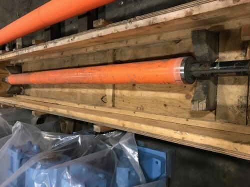 "Bowed Roll 6"" (152mm) Dia. X 113"" (2.87m) Face"