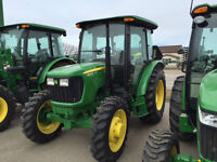 JOHN DEERE 2014 5000'S COMPACT CAB TRACTORS CLEARANCE SALE