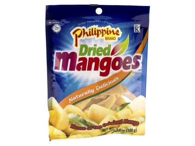 100g Essiccato Mango Secchi Mango Philippine Brand Frutta Secca Pinoy Dolce