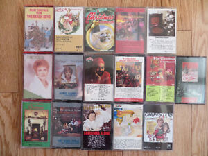VARIOUS CHRISTMAS CASSETTES Kitchener / Waterloo Kitchener Area image 1