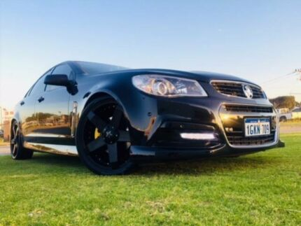 2013 Holden Commodore VF SS Black 6 Speed Automatic Sedan