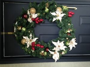 Christmas Wreath-Home For Holidays