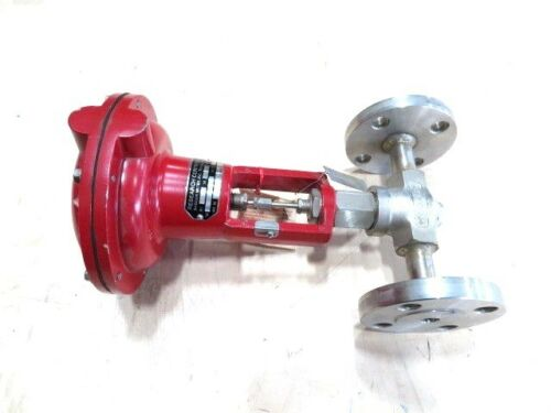 """1/2"""" Badger Meter 1002GCF36SVCSCPS3T Stainless Research Control Valve NEW"""