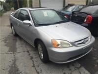 Honda Civic Sport 2003, Fiable, Economique 1.7L, toit ouvrant
