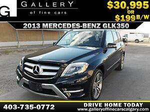 2013 Mercedes GLK350 4Matic $199 BI-WEEKLY APPLY NOW DRIVE NOW