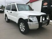 2014 Mitsubishi Pajero NW MY14 GLX LWB (4x4) White 5 Speed Auto Sports Mode Wagon Pialba Fraser Coast Preview