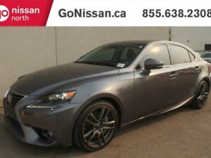 2014 Lexus IS 350 AWD, NAVIGATION, LEATHER,SUNROOF