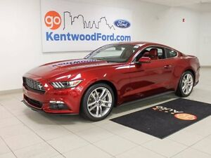 2016 Ford Mustang Coupe Premium, Leather, Backup Camera.
