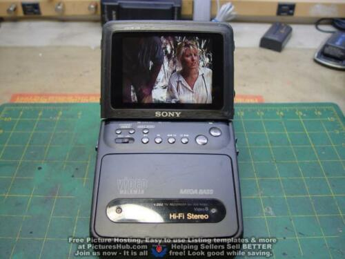 SONY GV-300 8mm Video Walkman Stereo HiFi Hi8 Player Recorder - 90 Days Warranty
