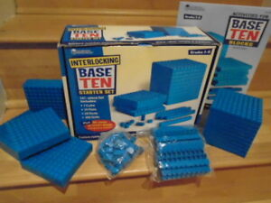 LEARNING RESOURCES- BASE TEN BLOCK KIT CLASSROOM RESOURCE