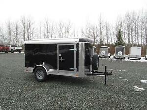 2017 5 X 10 ENCLOSED TRAILER WITH BARN DOORS Prince George British Columbia image 1