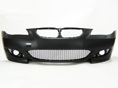 BMW 5 Series E60 04-07 M5 Style Front Bumper w/ FOG Lamps w/o PDC
