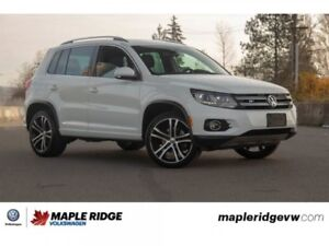 2017 Volkswagen Tiguan Highline NO ACCIDENTS, BC CAR, ALL-WHEEL