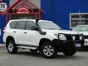 2014 Toyota Landcruiser Prado KDJ150R MY14 GX White 5 Speed Sports Automatic Wagon Welshpool Canning Area Preview