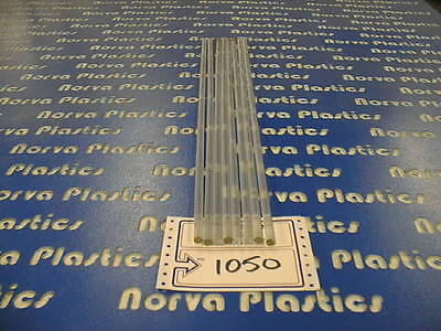 1050clear Polycarbonate Rod 38dia 8pcs 24 Long