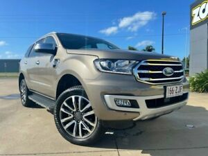 2019 Ford Everest UA II 2019.00MY Titanium Bronze 10 Speed Sports Automatic SUV Garbutt Townsville City Preview