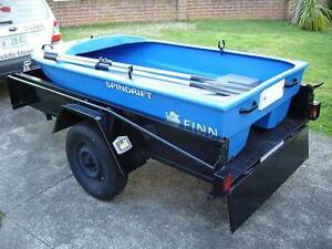 Commercial Rated 2.4m Finn Spindrift Dinghy – Level Buoyancy North Melbourne Melbourne City Preview