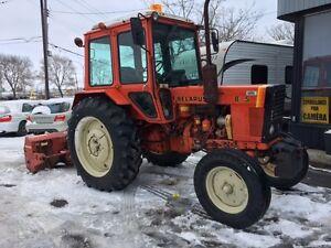 Tracteur Belarus 805 1989 avec soufleur