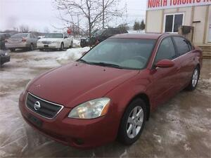 2004 NISSAN ALTIMA 2.5 SL - LEATHER - HEATED SEATS - SUNROOF