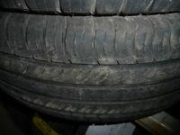4 pneus d'été 255/60/19 Michelin Lattitude Tour