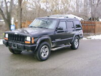 2000 Jeep Cherokee LIMITED SUV, Crossover LOW KLM