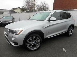 BMW X3 xDRIVE 35i 2015 ( NAVIGATION, BLUETOOTH,CAMÉRA DE RECUL )