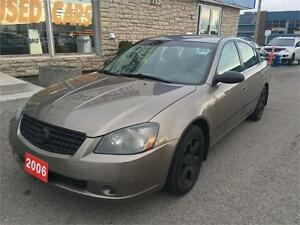 2006 Nissan Altima 2.5 S Special Price $4399