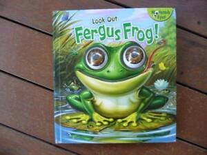 Look out Fergus Frog - Hardback with moveable eyes Book