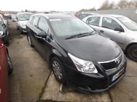 TOYOTA AVENSIS 1.8 PETROL MANUAL 2011 BREAKING FOR SPARES TEL 07814971951