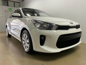 2018 Kia Rio YB MY19 S White 4 Speed Automatic Hatchback Phillip Woden Valley Preview