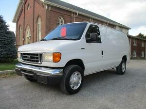 2006 Ford E250 Cargo Van - CERTIFIED & E-TESTED ONLY $4934