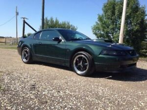 2001 MUSTANG GT BULLITT EDITION #0008 OUT OF 3041 MADE!