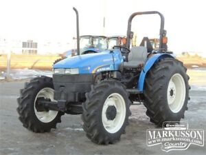 New Holland WORKMASTER 75 - MFWD, 75HP, PTO, 3pt, 49hrs
