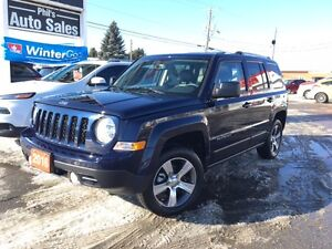 2016 Jeep Patriot HIGH ALTITUDE 4X4 // LEATHER - SUNROOF - NAV